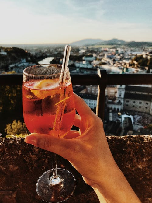 Free stock photo of aperol, austria, drink