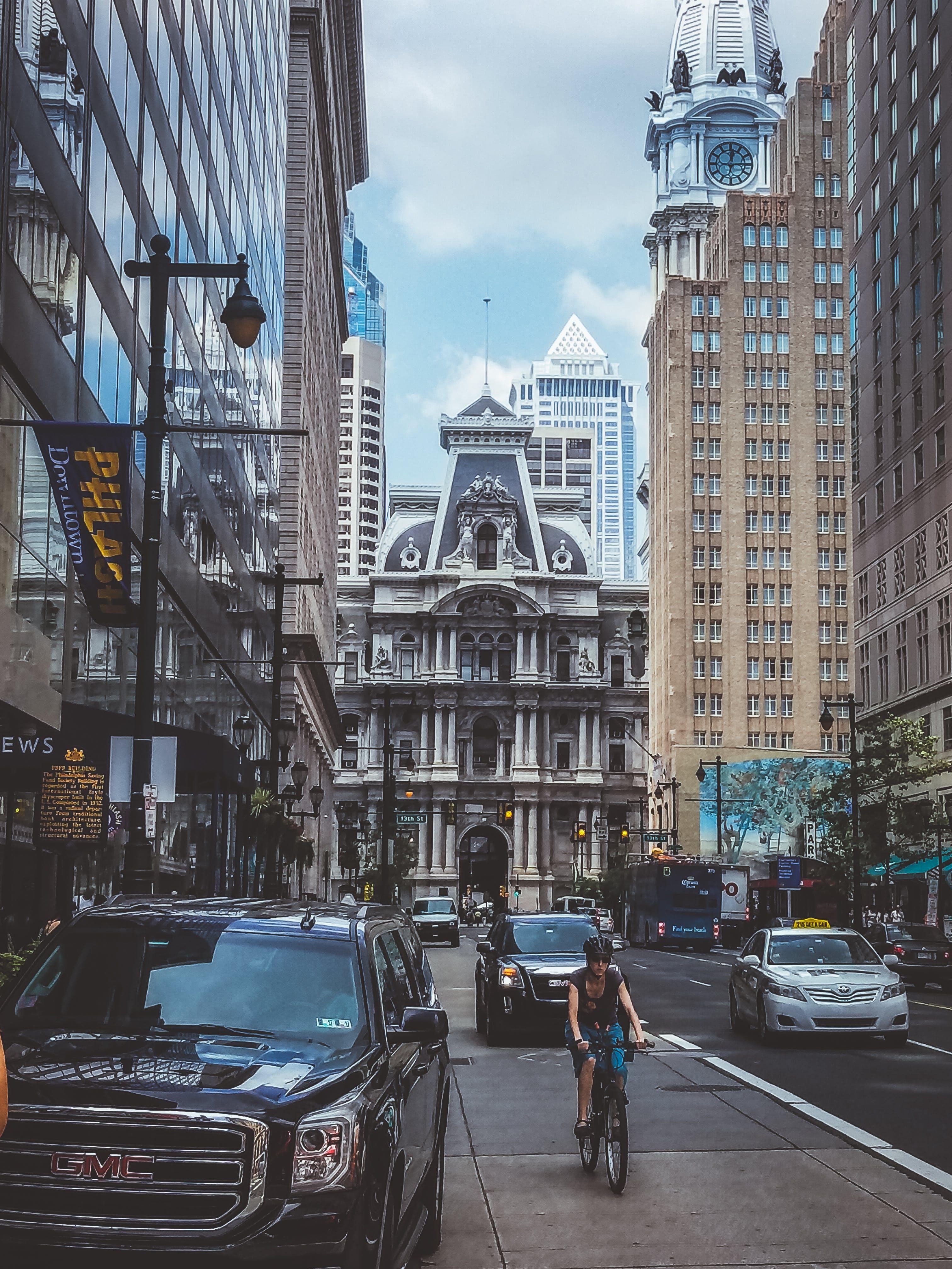 คลังภาพถ่ายฟรี ของ กลางวัน, คน, ตัวเมือง, ตึก