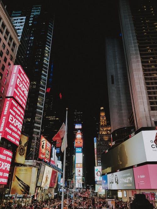 Kostnadsfri bild av nattlampor, nattliv