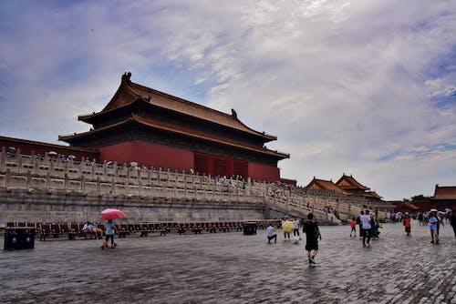 금단의 궁전, 베이징, 중국 건축물, 중국 문화의 무료 스톡 사진