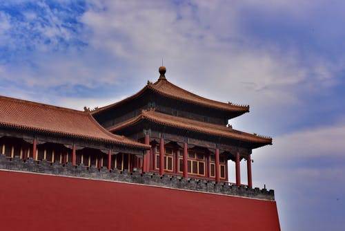 궁전, 금단의 도시, 베이징, 오래된 건물의 무료 스톡 사진