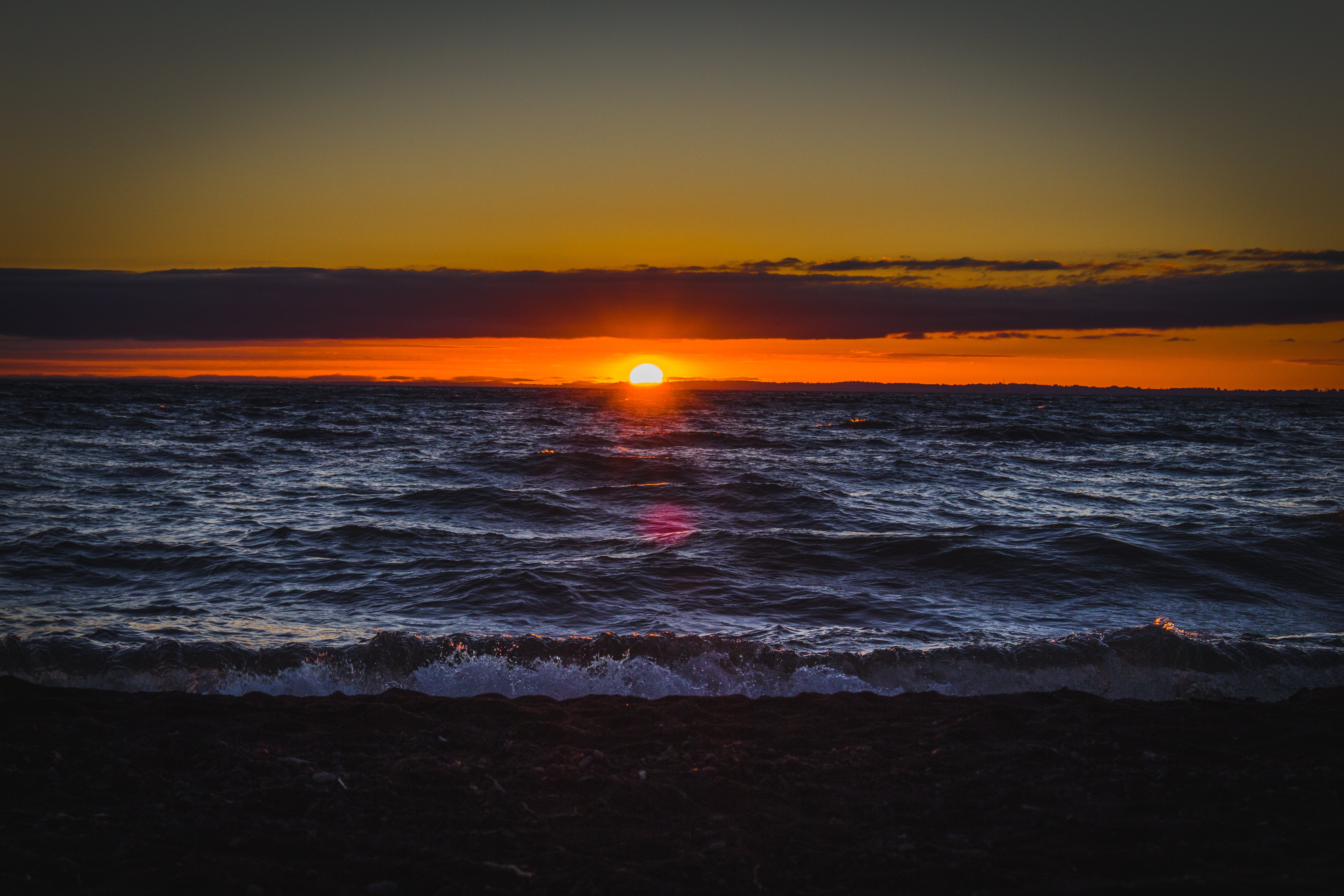Photography of Sea during Sunset