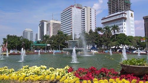 Základová fotografie zdarma na téma vodní fontána