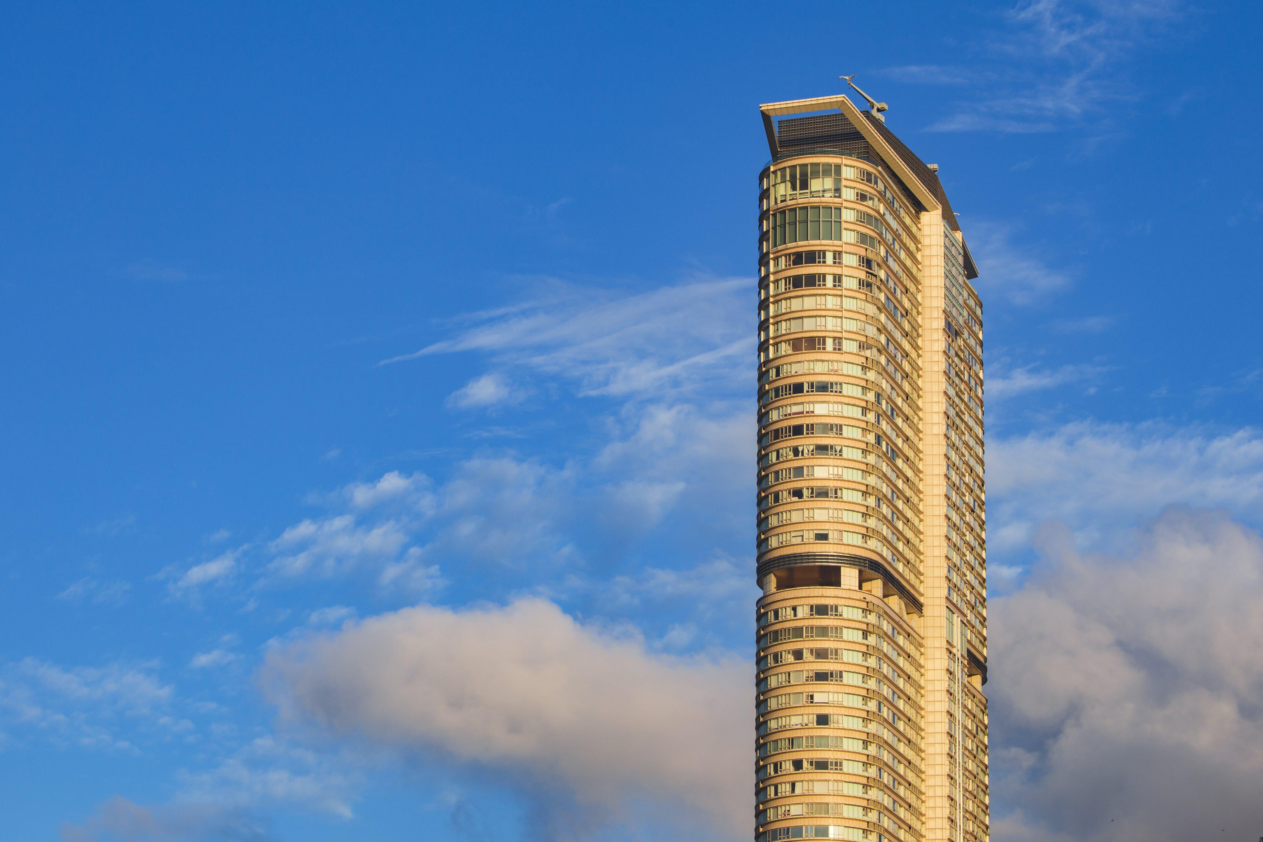 건축, 건축 설계, 고층, 고층 건물의 무료 스톡 사진