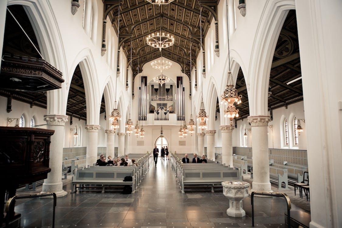 列, 大教堂, 天花板