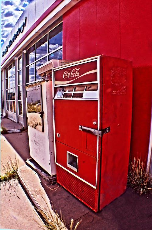 Free stock photo of coca cola, coke machine, machine