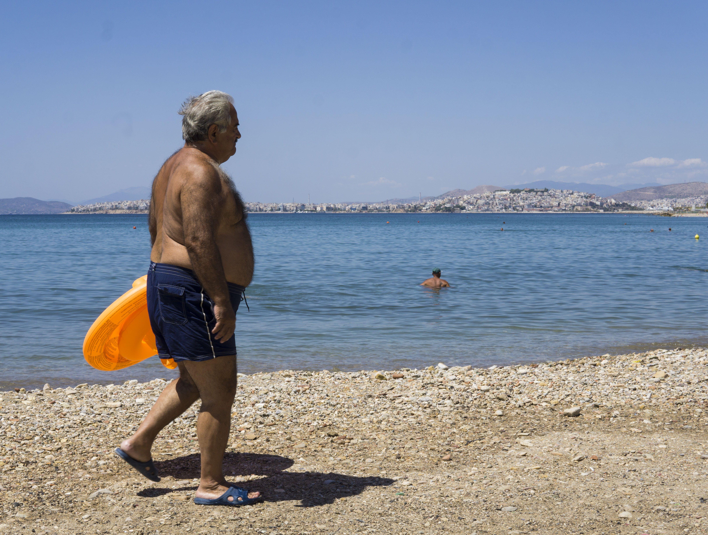 Free stock photo of beach, greece, hairy, man