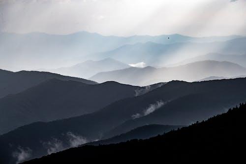 Základová fotografie zdarma na téma bouře, déšť, epické, hora
