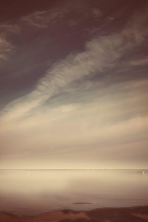 Gratis lagerfoto af falmede, stor himmel, t¨åge