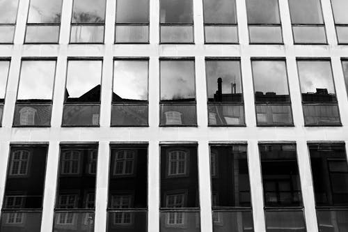 Free stock photo of black and white, building, building exterior