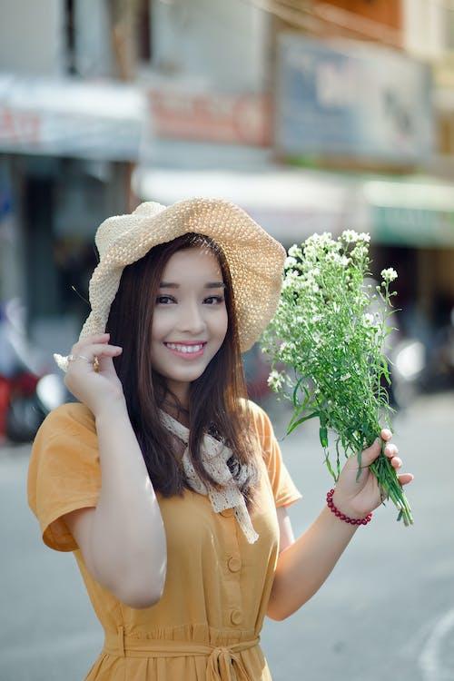 亞洲女人, 亞洲女孩, 享受, 人 的 免費圖庫相片