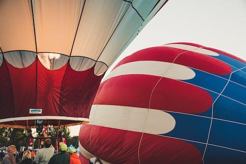 Základová fotografie zdarma na téma balóny, horkovzdušné balóny, lidé