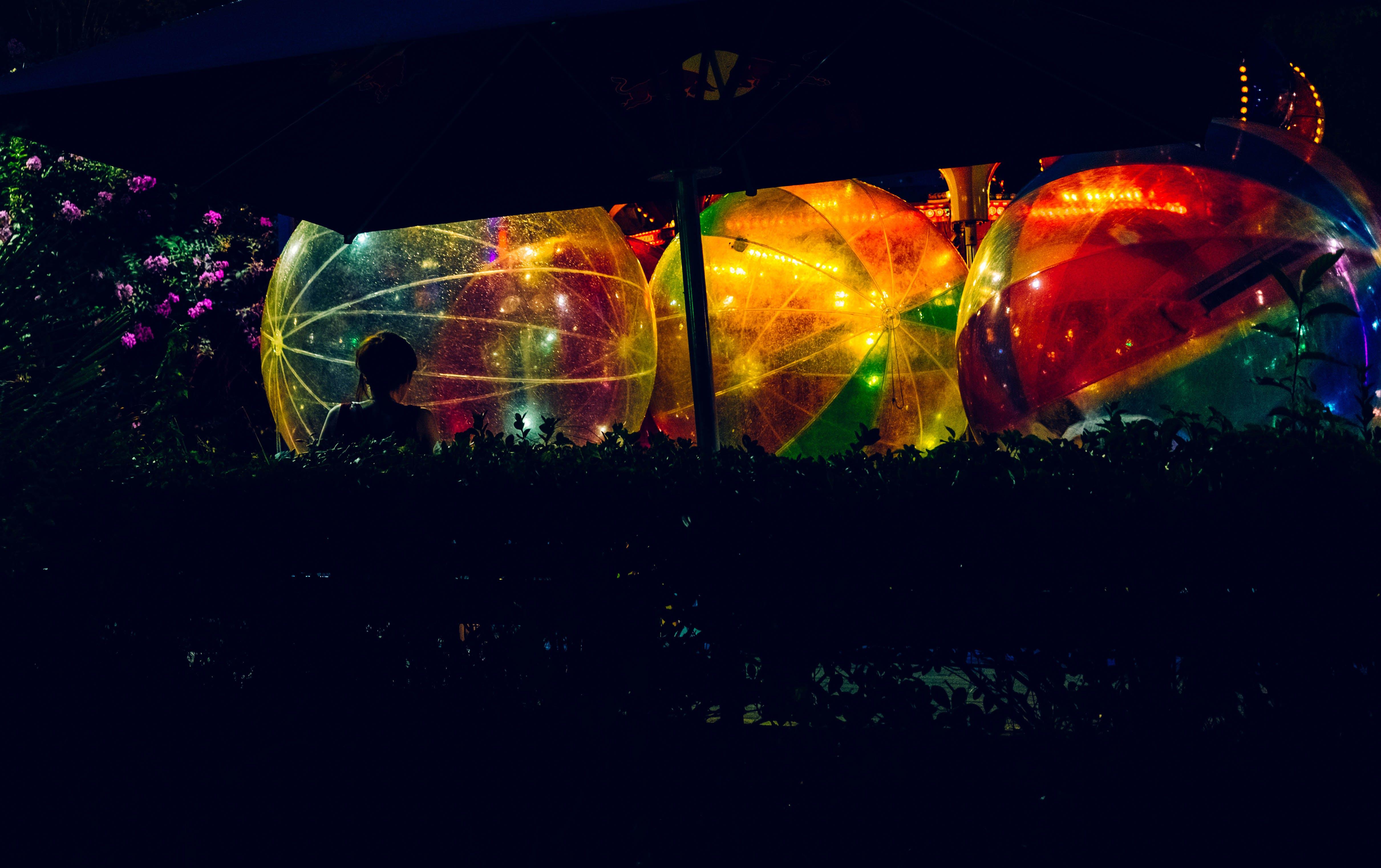 Multicolored Lights Wallpaper