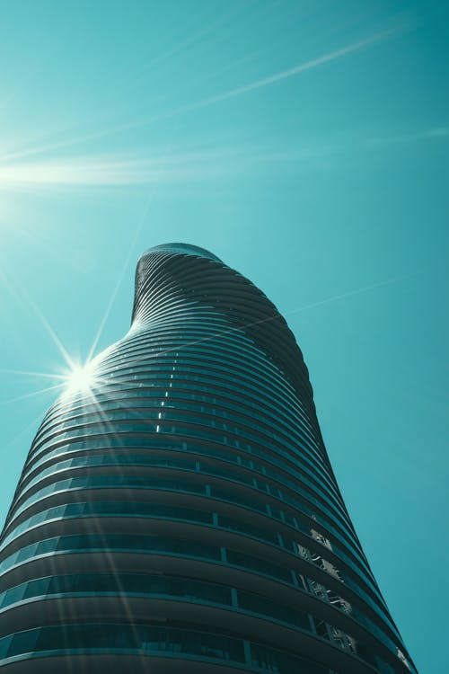 bakış açısı, bardak, bina, çağdaş içeren Ücretsiz stok fotoğraf