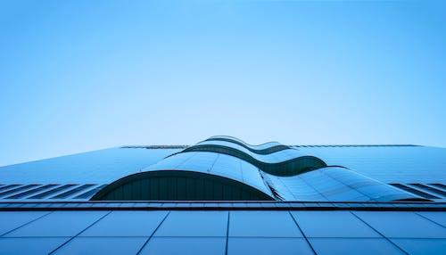 Foto d'estoc gratuïta de arquitectònic, arquitectura, contrapicat, corbes
