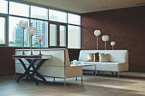 Gratis lagerfoto af boligindretning, indendørs, interiør, lamper