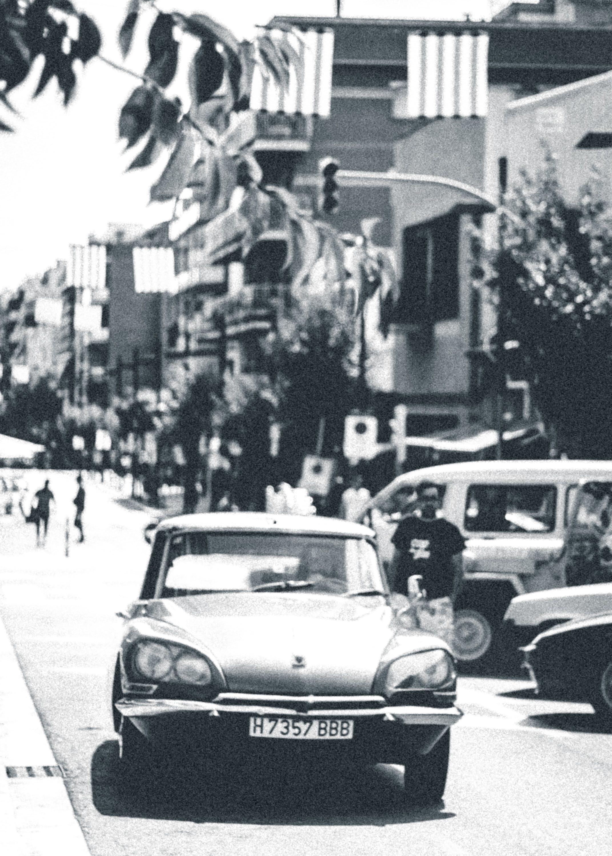 Classic Gray Car