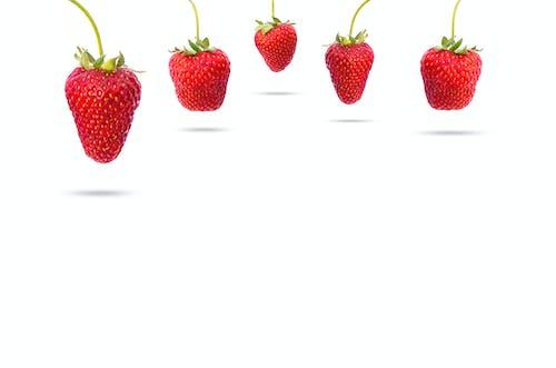 Kostenloses Stock Foto zu aufhängen, beere, erdbeere, erdbeeren
