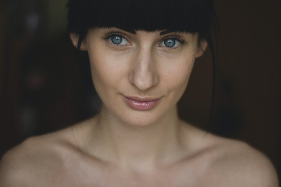beauty, blue eyes, eyes
