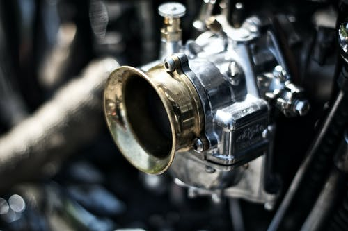 Silver Carburetor