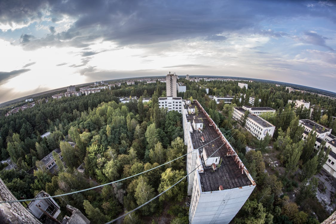360 Photography of High-rise Buildings