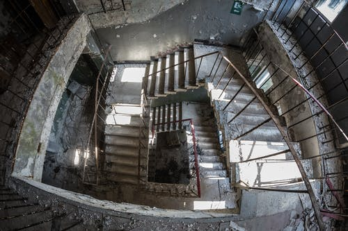 Ảnh lưu trữ miễn phí về bậc thang, bắn góc cao, bê tông, bị bỏ rơi