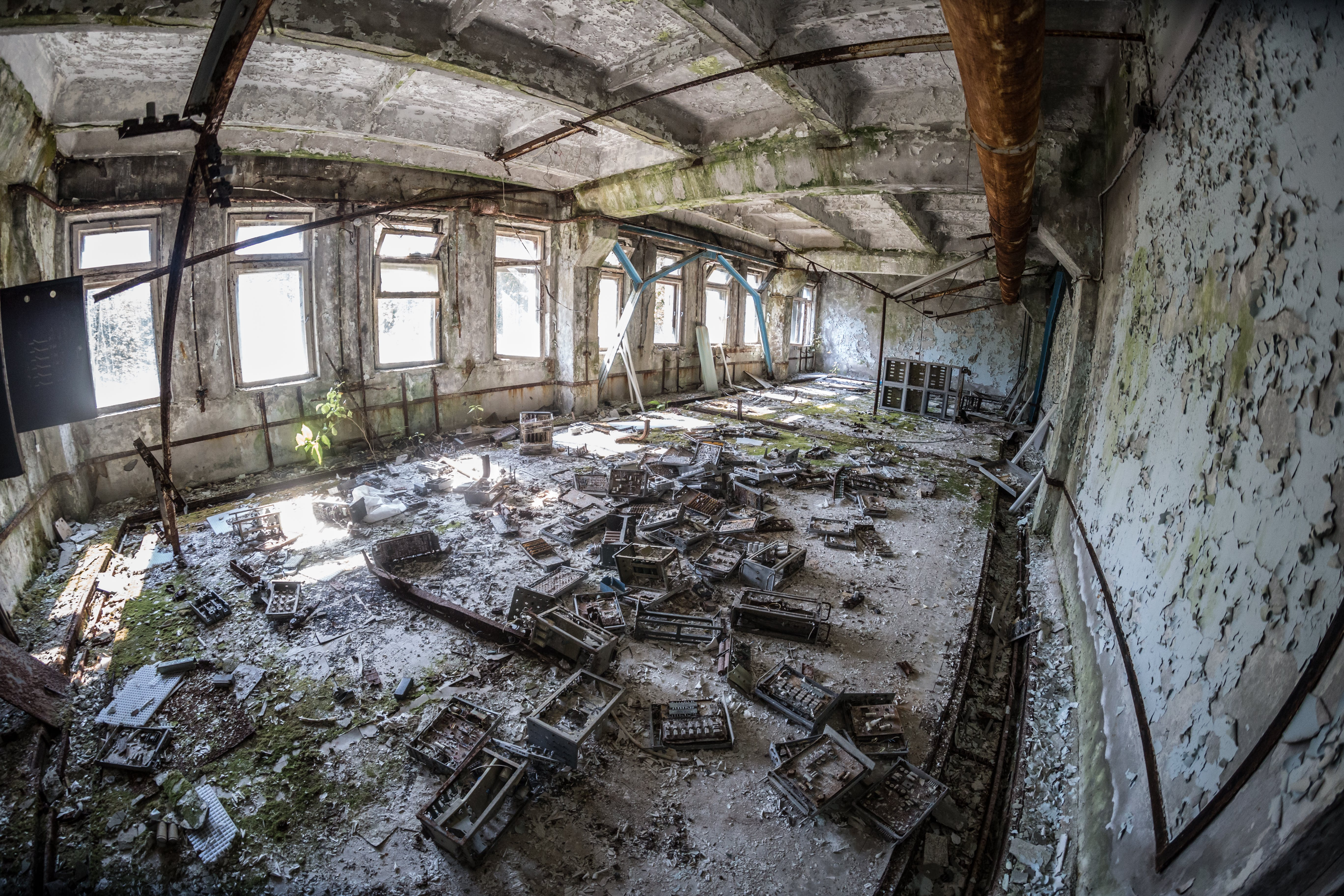 Photo of Abandoned Building Interior