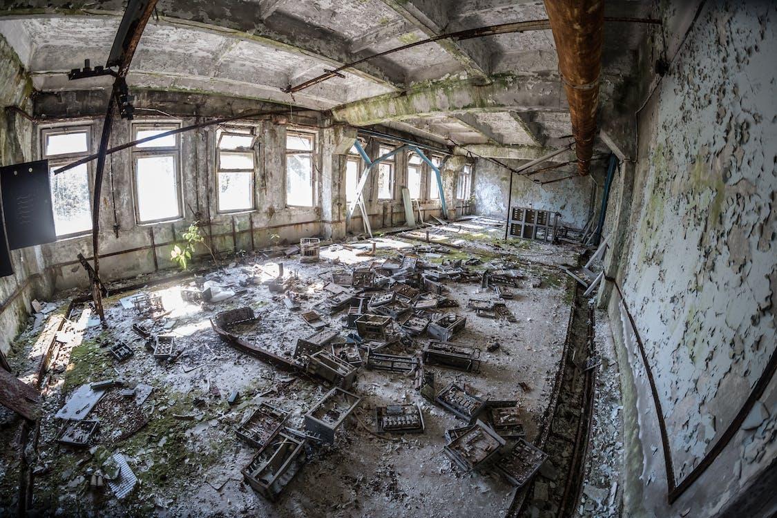 bị bỏ rơi, Chernobyl, hoang vắng