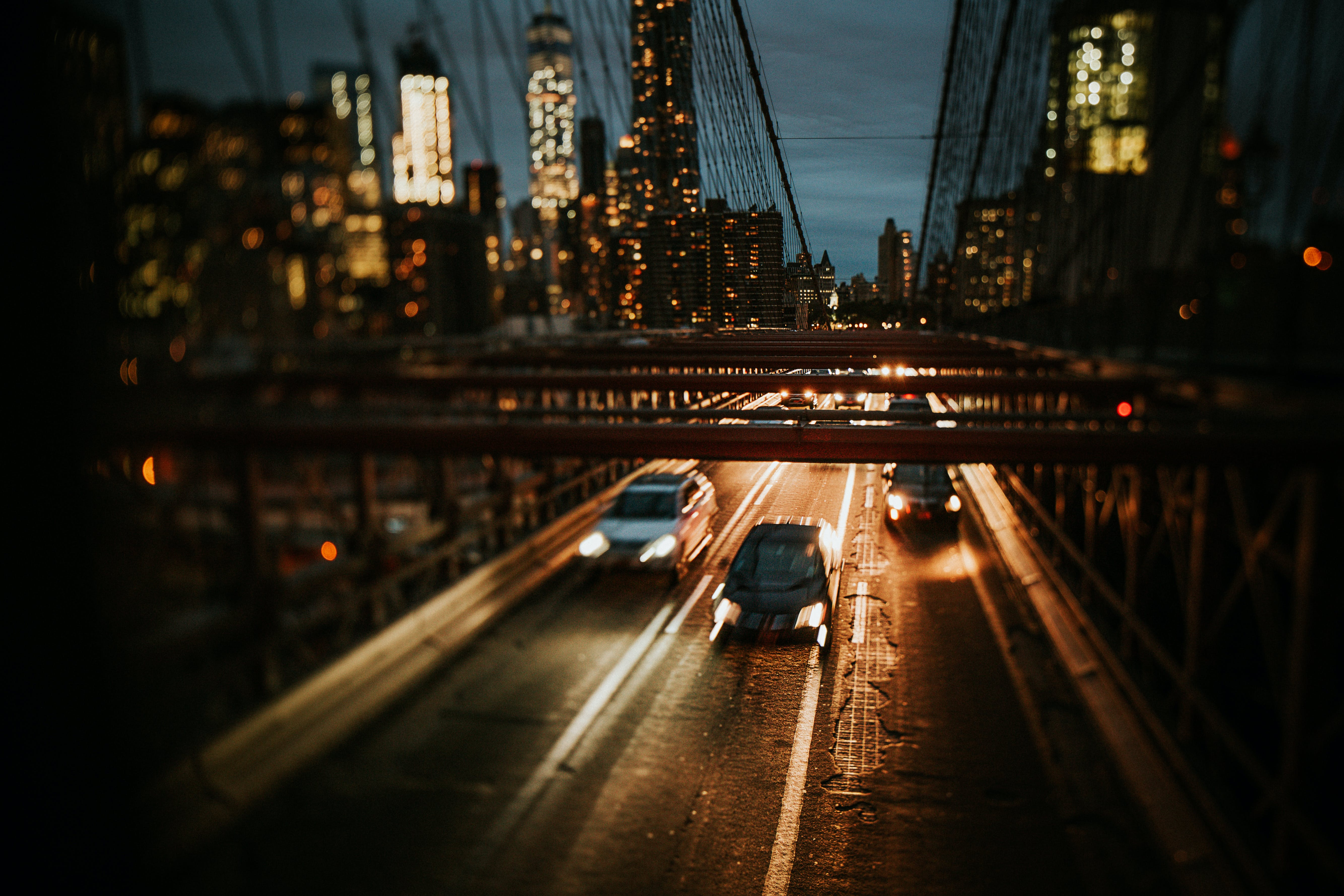 Bridge With Cars Travelling