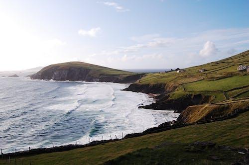 Free stock photo of beach, blue, green, ireland