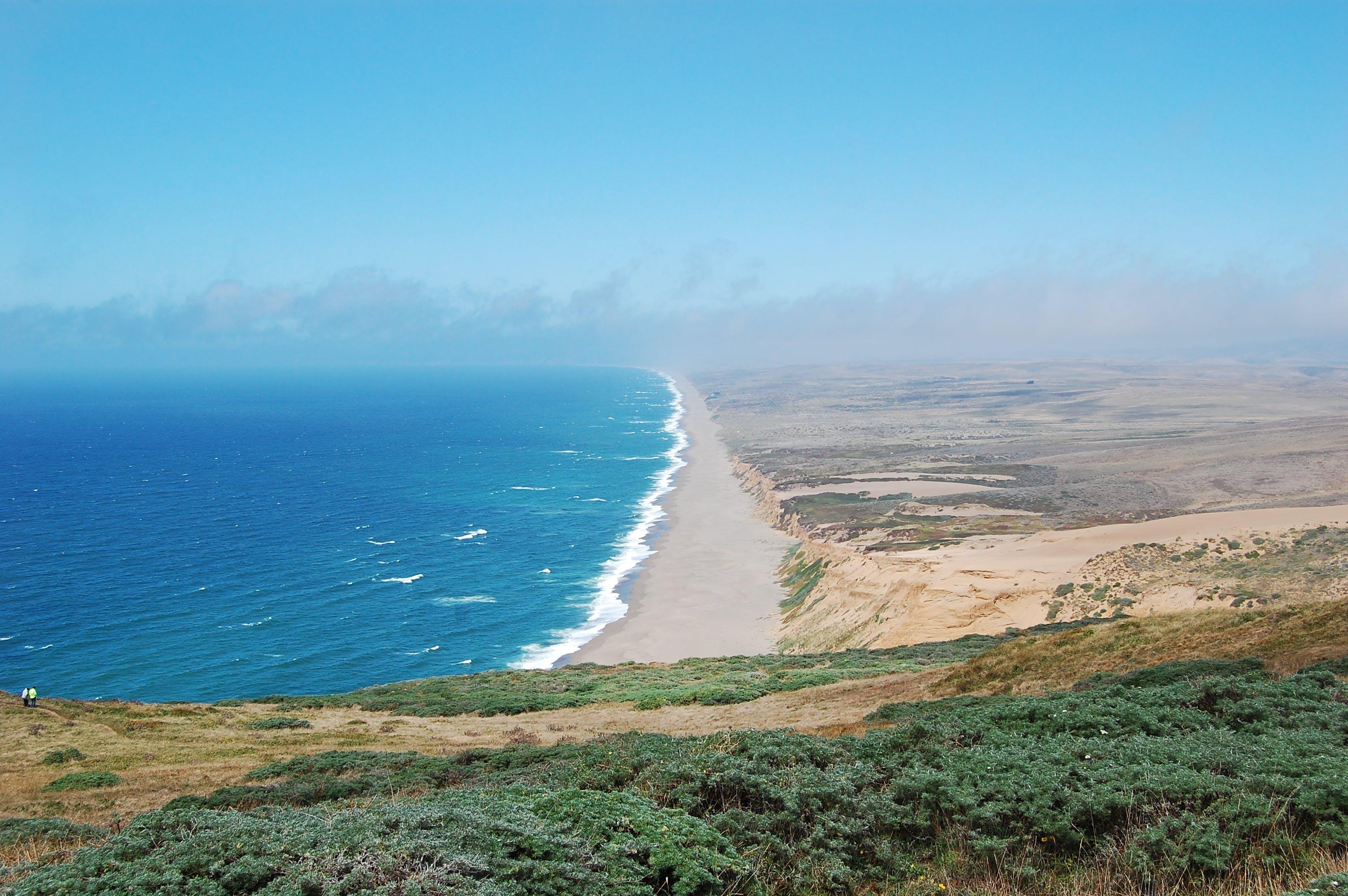 Free stock photo of art, beach, california, coast