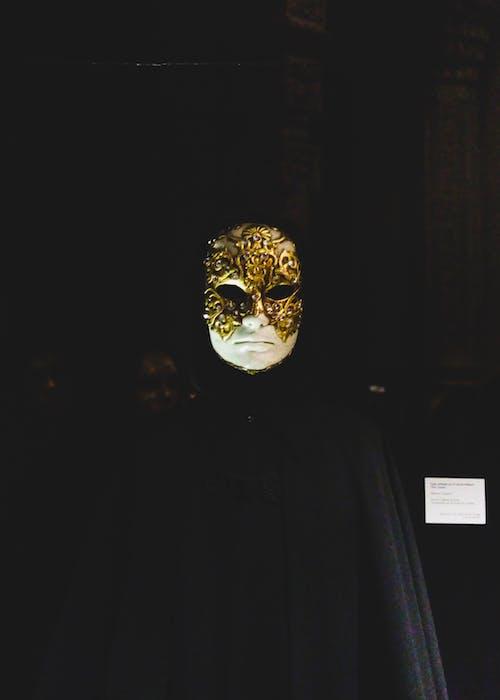Бесплатное стоковое фото с кино, костюм, маска