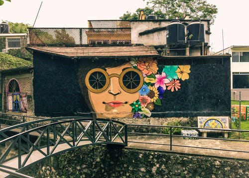 Free stock photo of art, mexico, mural, street