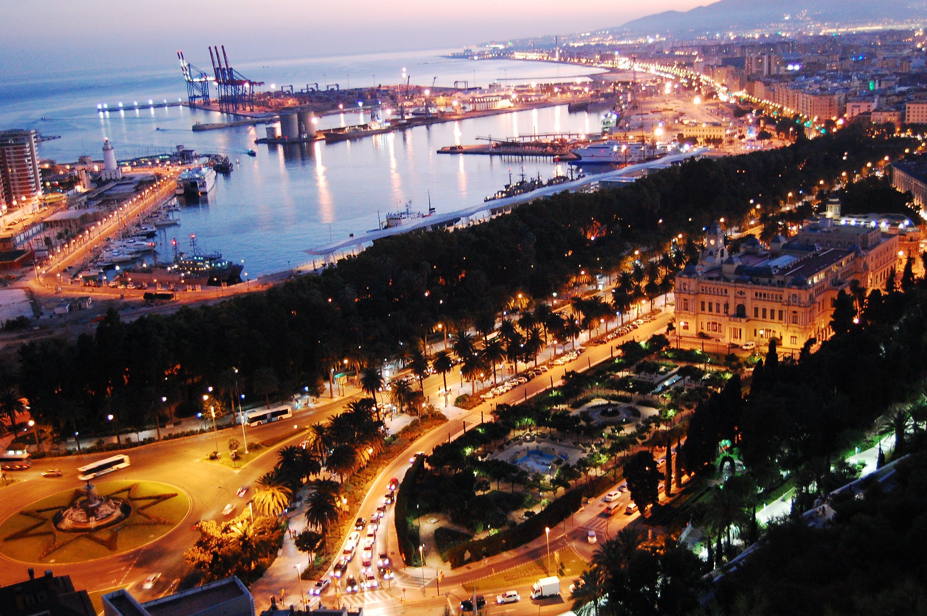 Free stock photo of city, harbour, malaga, spain