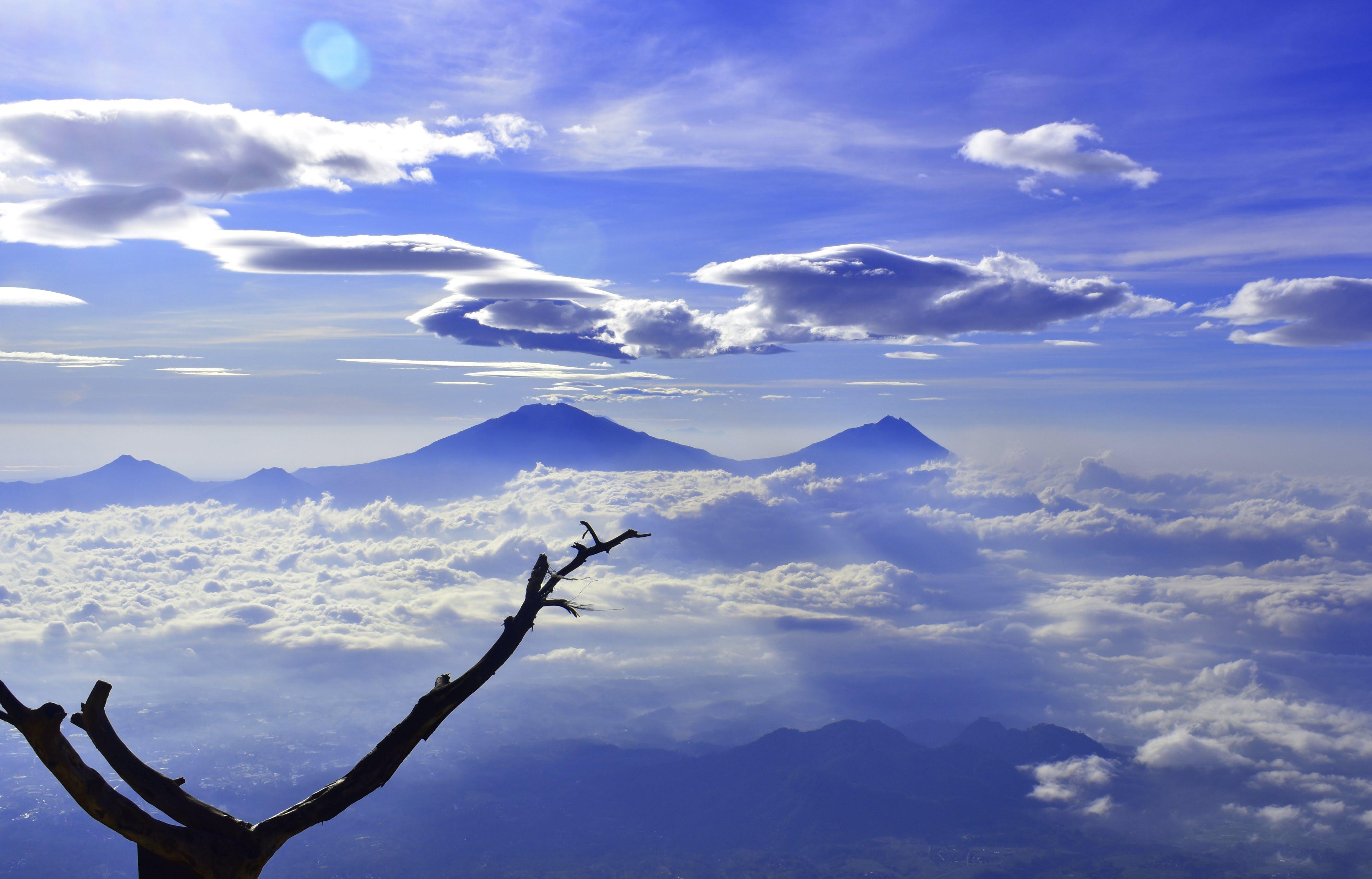 Free stock photo of adventure, clouds, hiking, landsape