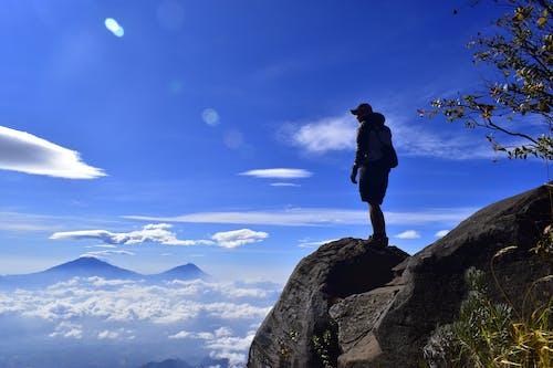 Безкоштовне стокове фото на тему «альпінізм, альпініст, гора, краєвид»
