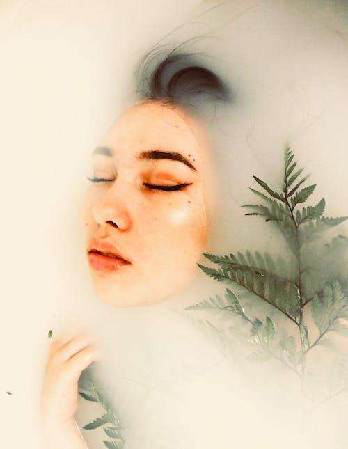 Základová fotografie zdarma na téma holka, kapradina, krása, krásný