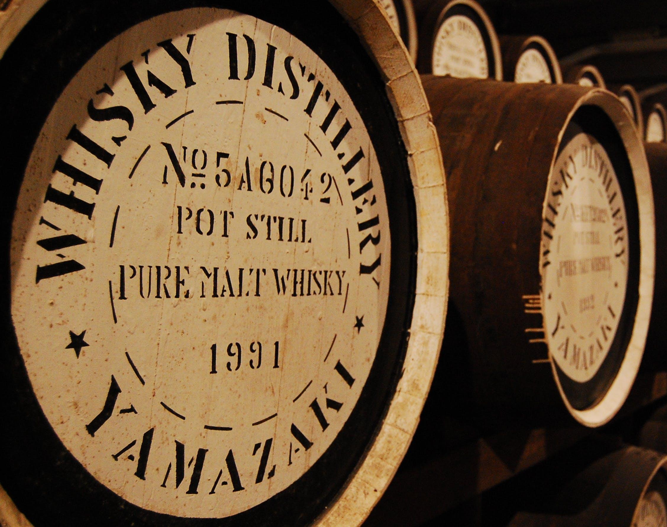 Free stock photo of barrels, storage, whiskey, whisky