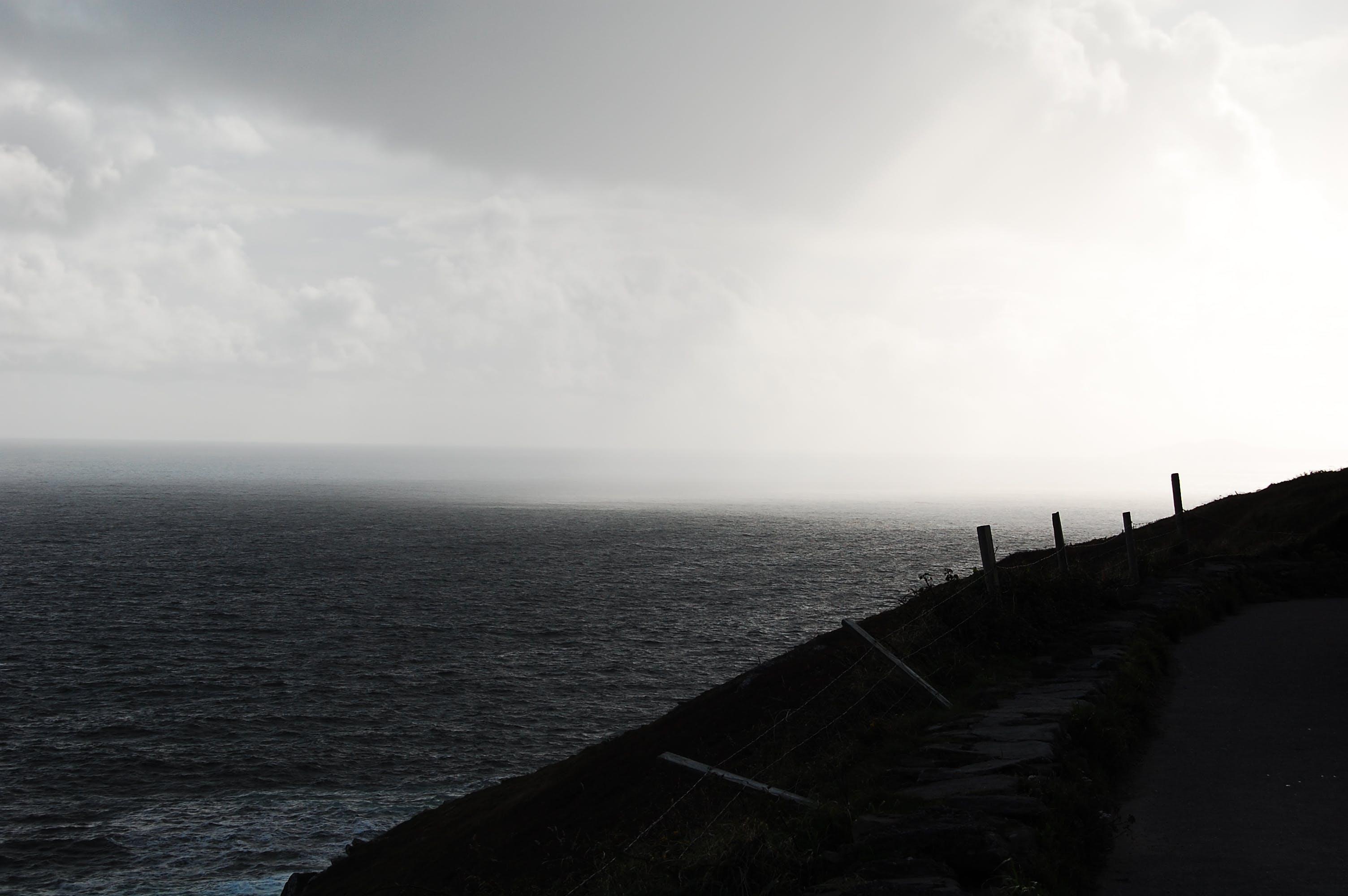 Free stock photo of coast, ireland, rain, sea