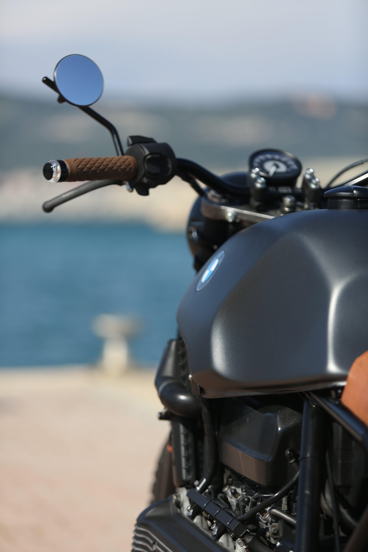 Free stock photo of bmwk100, caferacer, motorbike, scrambler