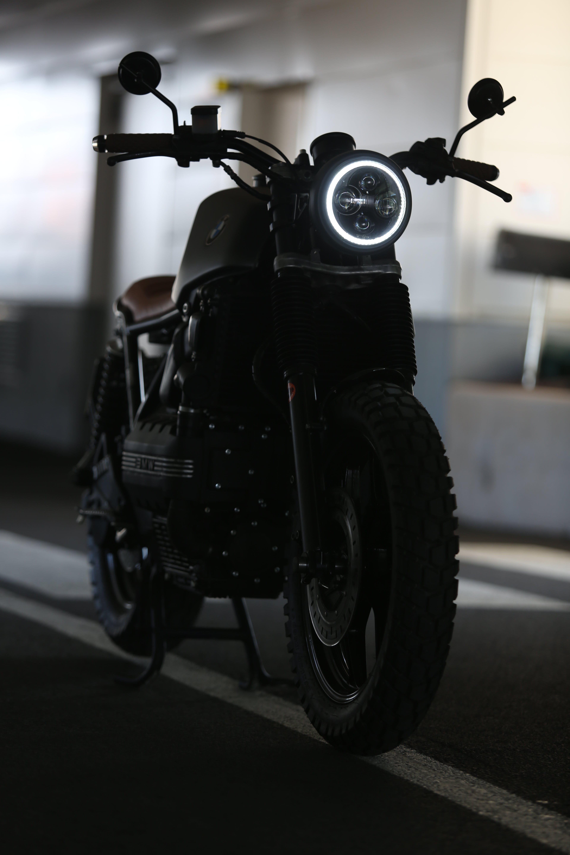 Free stock photo of bmwk100, caferacer, kart, motorbike