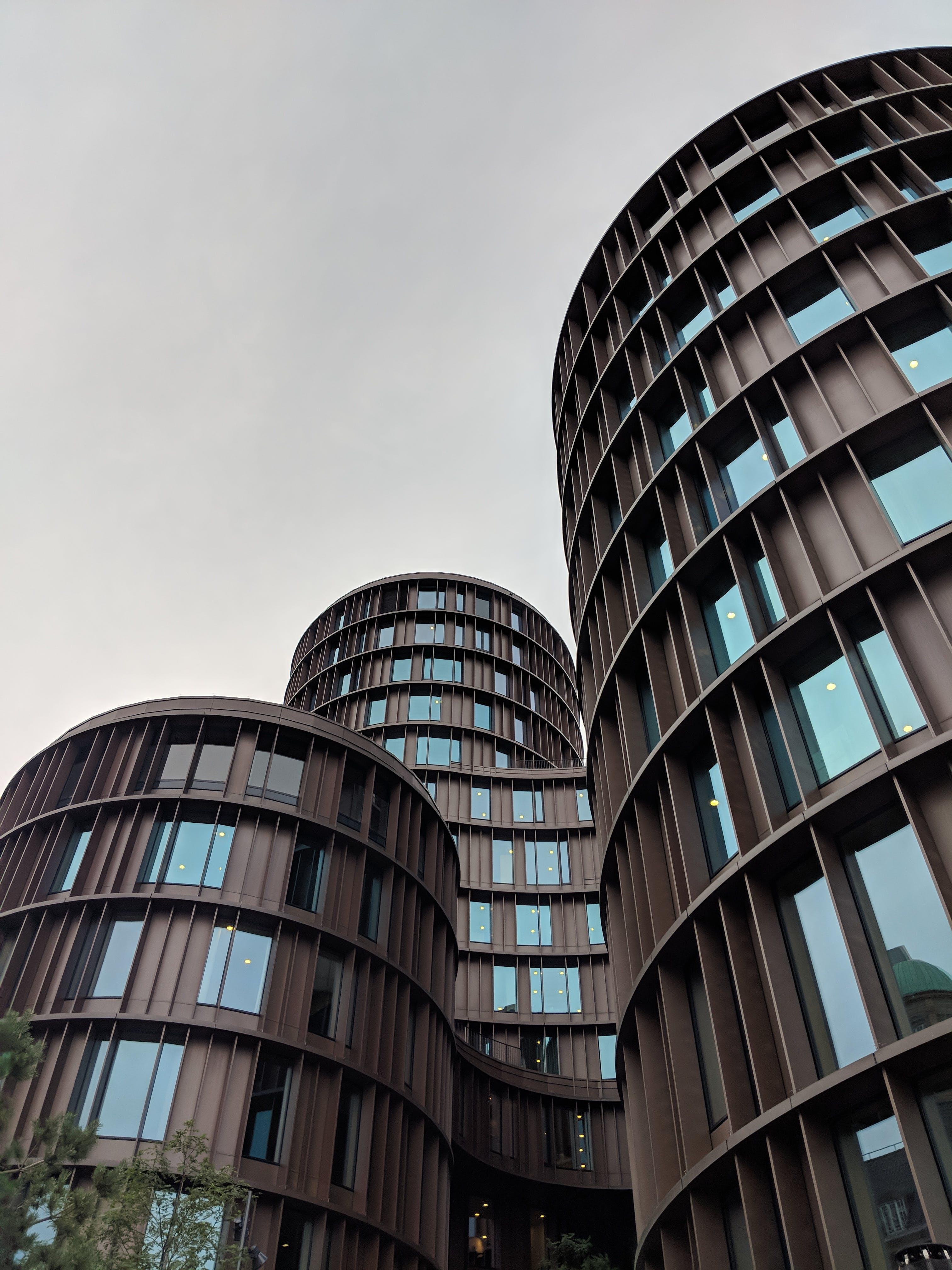 Low Angle Photo City Buildings