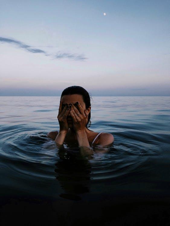 낮, 물, 바다