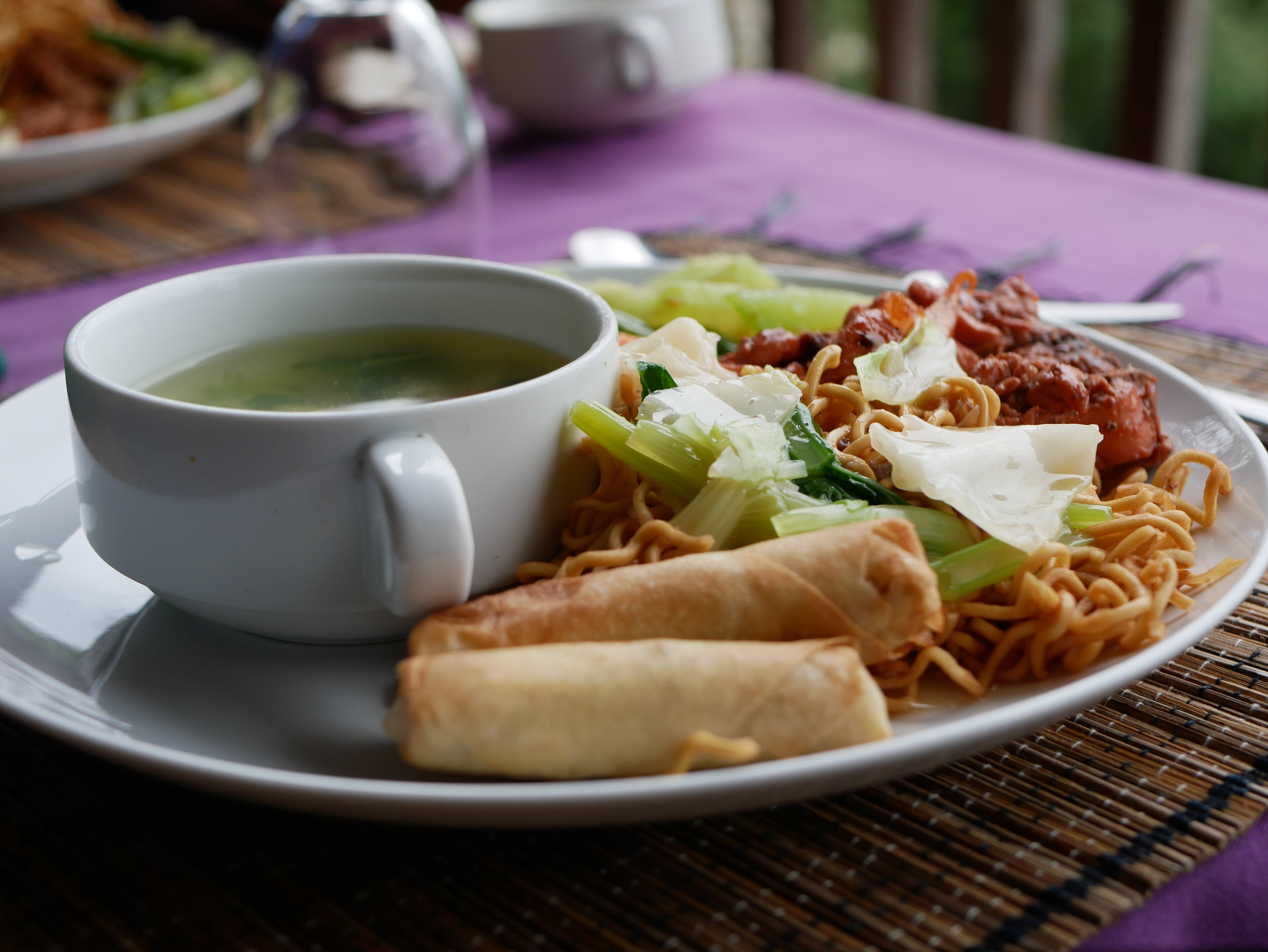 Free stock photo of indonesia, meal, plate, vegetables