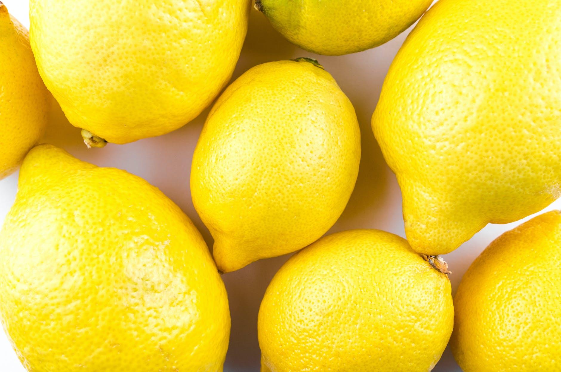 Lemons can repel spiders.