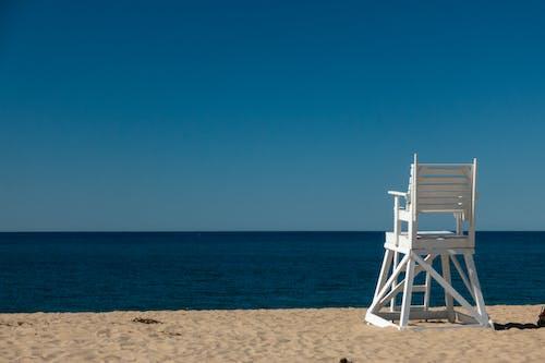 Free stock photo of beach, beach chair, ocean, summer
