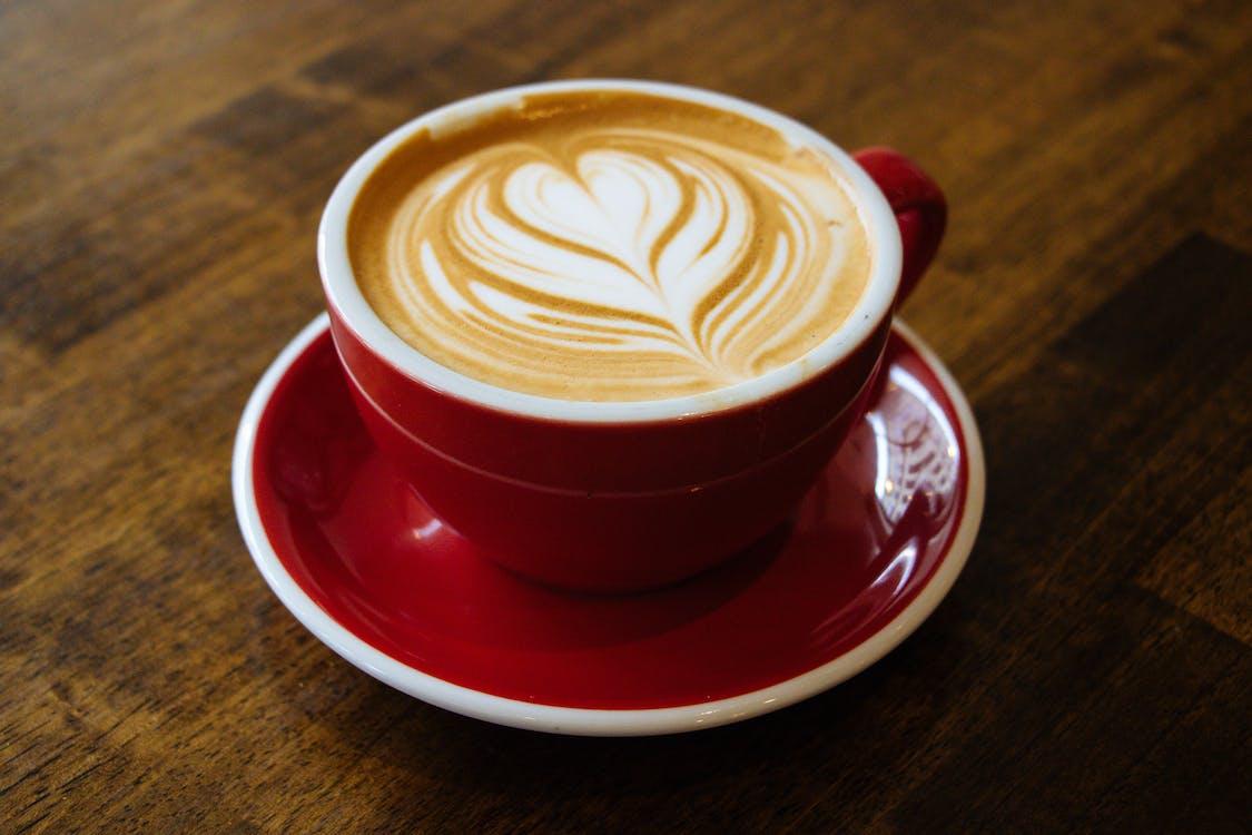 cappuccino, close-up, Drik