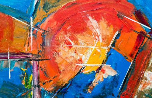 Безкоштовне стокове фото на тему «абстрактна картина, абстрактний експресіонізм, гуаш, експресіонізм»