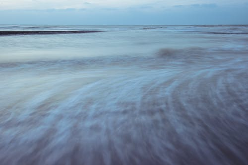 ビーチ, ベルギー, 夜明け, 水の無料の写真素材