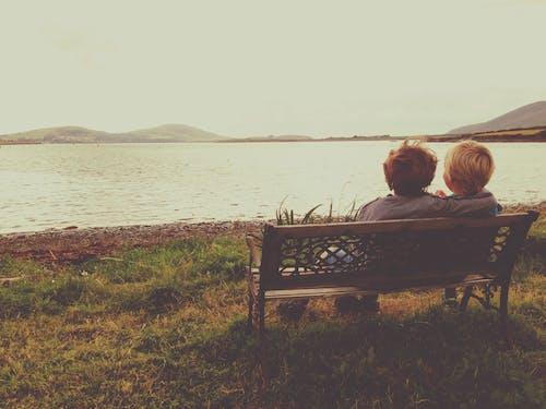 Ảnh lưu trữ miễn phí về anh em, Băng ghế, biển, ireland